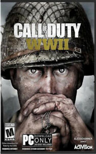 Brand New Call of Duty WWII PC Bilingual Game