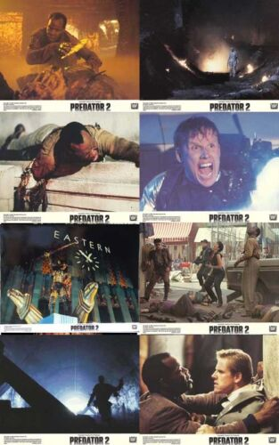 PREDATOR 2 (1990) Lobby Cards  Complete Set of 8 LIMITED OFFER!!