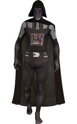 Darth Vader Costume For Men (Darth Vader 2nd Skin Costume for Men size M (5'-5'4