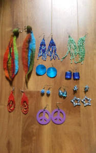 Free colourful earrings!