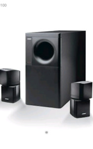 Bose acoustimass speakers and subwoofer