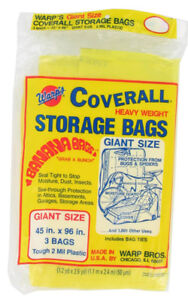 "Giant Heavy Weight Storage Bags 45"" x 96"" (Unopened 3-pack)"