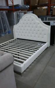 King & queen platform beds