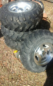 Rhino  660  wheels and  tires