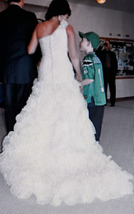 Size 8 couture bridal dress