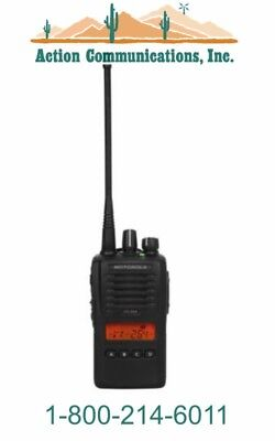 New Motorola Vx-264-d0-5 Vhf 134-174 Mhz 5 Watt 128 Channel Two Way Radio