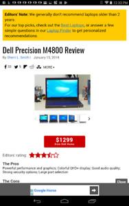 Dell laptop precision m 4800