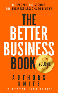 Local author! Int'l best seller Better Business Book volume 3
