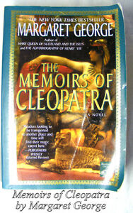 Memoirs of Cleopatra, historical novel Margaret George
