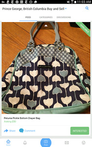 Petunia pickle diaper bag