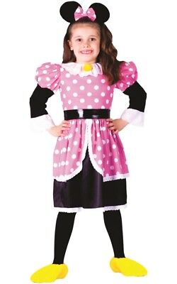 Dress Up America Pink Deluxe Ms. Mouse Costume Set