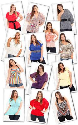 LOT 15 Women Plus n Junior clothing Tops Pants Dresses Apparel S M L XL 2XL 3XL