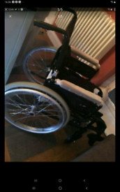 Brand new self propelled wheel chair retails £409