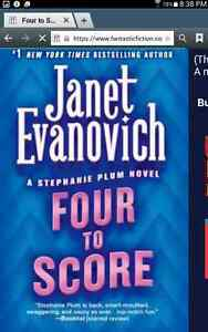 Wanted janet evanovich HARD COVER book's