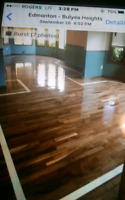 Hardwood flooring. REfinishing and instulation. REcoat