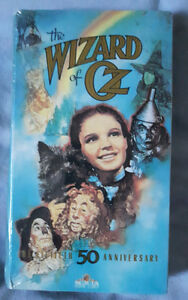 Sealed Wizard Of Oz 50th Anniversary VHS