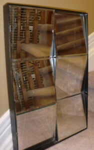 Home decor - Accent mirror , 12 inches by 19