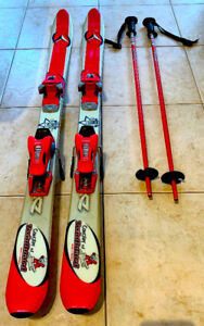 Dynastar Twinboard Concept Junior Skis with Bindings and Poles