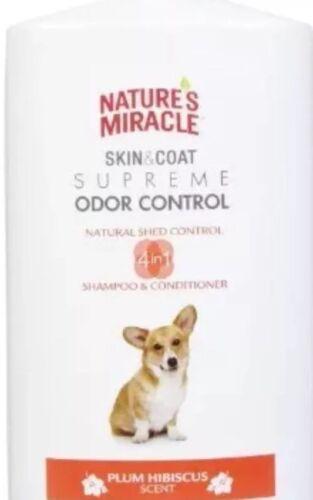 plum hibiscus scented dog shampoo