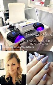 Fully Qualified nail technician and lash maker/FB: Lashesandnailslondon/Viktorija Klavina.