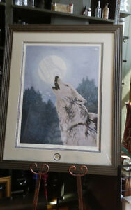 "DUCKS UNLIMITED NATIONAL ART PORTFOLIO ""SPIRIT of the WOLF"""