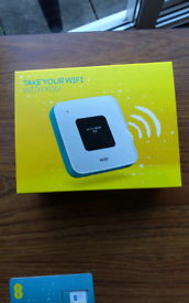 EE fully portable wifi box £30
