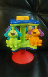 High chair table toy