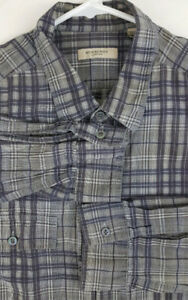 BURBERRY LONDON Mens Long Sleeve Button Up Shirt XL