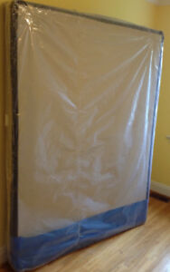 Queen size low profile box spring - boxspring still in package