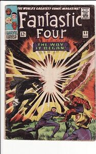 Fantastic Four #53 comic 2nd BLACK PANTHER! $45, OBO