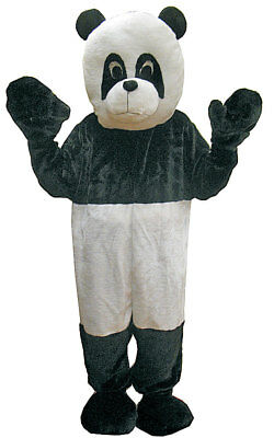Sweet Panda Bear Mascot Black & White Costume for Kids and Adults By Dress up Am - Kids Black Bear Costume