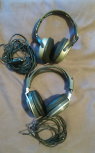 2 Pairs of Headphones-$20 each or $30 for both