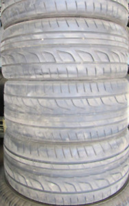 4 Tires sized P245/35R20 at 60-70% Tread left on them Selling fo