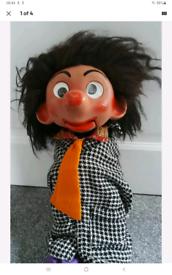 Antique Collectable retro vintage toy puppet