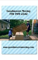 goodmoversmoving.com. Full MOVING SERVICE last minute ok Book