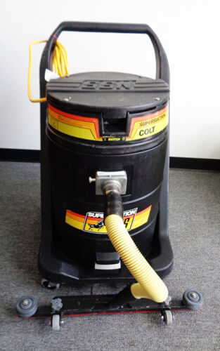 NSS COLT SUPER SUCTION WET VACUUM, 115V, USED, CLEAN, WORKS