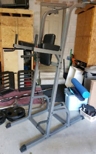 Dip Pull up station bars Parallette Bars Aerobic Steps