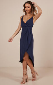 Showpo Navy Dress