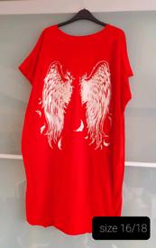 Womens Wings Dress/Tunic size 16/18 NEW