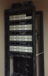 CABLE TALK H-FRAME/RACK/CABLE VERTICAL/ORIZONTAL/PATCH 48 AVAYA