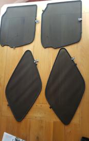 Suzuki Grand Vitara Side and Back Sunshades