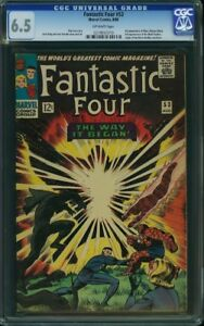 Graded comic books for sale -Panther, Antman, Fantastic Four