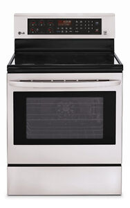 LG LRE6383ST electric 7.1 cubic ft Range with True Convection