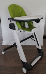 Peg Perego Siesta High Chair - Mela Green Apple