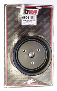 Transdapt 8603 Crank 2 Groove Pulley 1955-68 Chevy Small Block