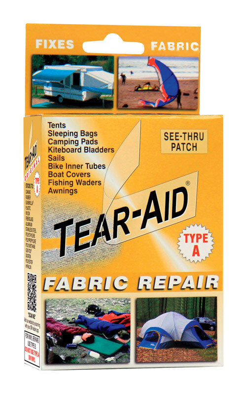 Tear-Aid  Patch Type A  Clear  Fabric Repair Kit