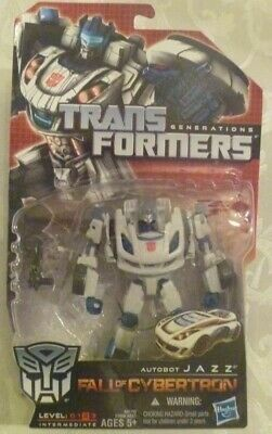 Transformers Generations 2011 Fall Of Cybertron Autobot JAZZ Deluxe Class