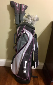 BRAND NEW Wilson's (lefty) Platinum Golf Set