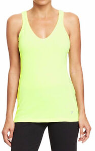 Women's Old Navy neon green racerback tank top Small NWT London Ontario image 1