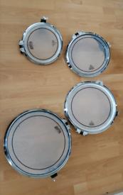 "Arbiter flats drum 10""12""14""16"" Tom's /pearl /Mapex /Yamaha /Tama"